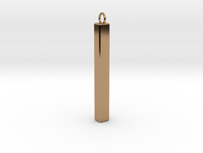 Simple Pendants in Polished Brass
