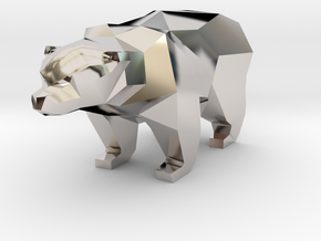A Bear - 2.6cm in Platinum