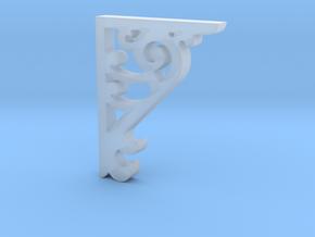 Victorian Corner Bracket - 002 1:12 Scale in Smooth Fine Detail Plastic