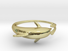 Dolphring in 18K Gold Plated