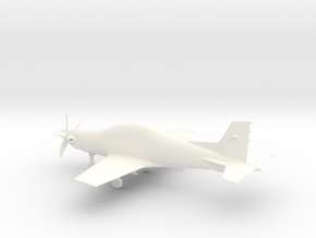 PC-21 Turboprop 10cm highly detailed in White Processed Versatile Plastic