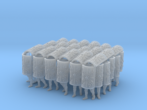 1-87 Roman Testudo in Smooth Fine Detail Plastic