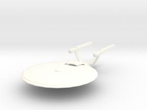 Uss Lance in White Processed Versatile Plastic