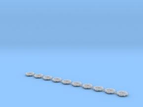 Kaefer wheelinserts 8.6mm in Smooth Fine Detail Plastic