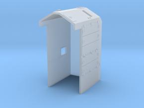 GE Dash 8 'B' (N/HO) in Smooth Fine Detail Plastic: 1:87 - HO