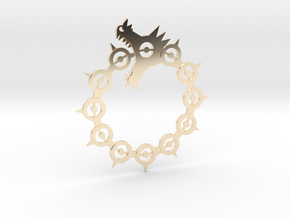 Maliodas The Dragon Sin Full Detail in 14K Yellow Gold