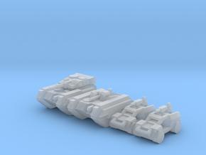 [3mm] Airborne Armor Plt 3 in Smoothest Fine Detail Plastic