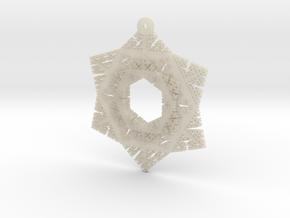 Cesaro Snowflake - 3 in White Acrylic