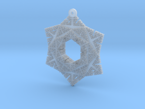 Cesaro Snowflake - 2 in Smooth Fine Detail Plastic