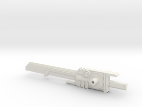 PM-01 BEGINNING OF THE END(Sword) in White Natural Versatile Plastic