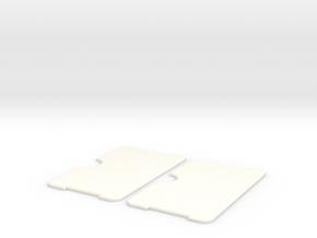 Minimalist Wallet  in White Processed Versatile Plastic