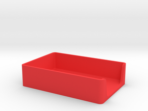 Note Paper Tray GREAT for Commodore 64 Disks too! in Red Processed Versatile Plastic