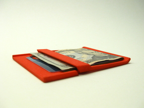 Akio: a wallet/clip in White Strong & Flexible