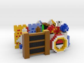 Legend of Zelda Items (Set 1) in Full Color Sandstone