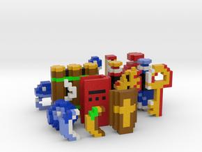 Legend of Zelda Items (Set 2) in Full Color Sandstone