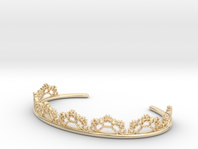 Open Lace Cuff - small in 14k Gold Plated Brass