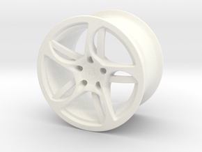 Wheel Lamborghini in White Processed Versatile Plastic