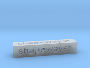 Shapeways Stick 1 - XS in Smooth Fine Detail Plastic