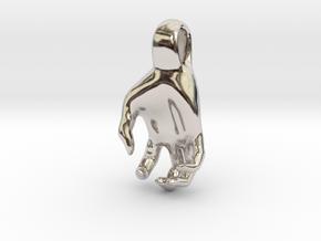 Luke's Hand (pendant) in Platinum