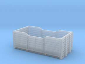 2mmFS GNR 6/7 plank open wagon in Smooth Fine Detail Plastic