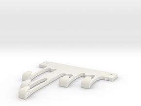 Hanger in White Strong & Flexible