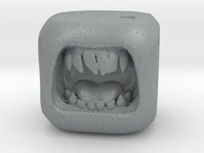 Dice Orc - Monster Dice - 16mm in Polished Metallic Plastic