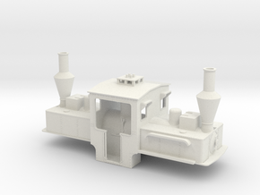 B-1-32-pechot-bourdon-2d in White Natural Versatile Plastic