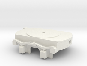 A-1-32-bogie2ax-1a in White Natural Versatile Plastic