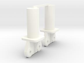 200t Ends(1) in White Processed Versatile Plastic