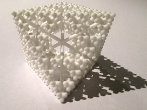 Fractal Plus in White Strong & Flexible
