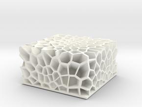 Coral-luminescent-Atlantic Ocean in White Processed Versatile Plastic