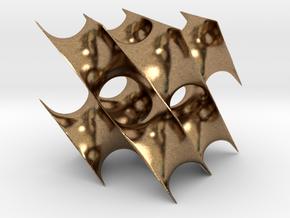Schwarzcube1 in Natural Brass