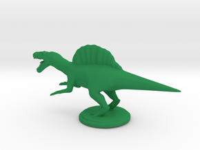 Replica Miniature Dinosaurs Spinosaurus Model A.02 in Green Processed Versatile Plastic