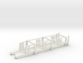FR / Cambrian Tender - P4 Chassis in White Natural Versatile Plastic