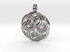 LIFE SPIRALS in Fine Detail Polished Silver