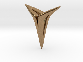 YOUNIVERSAL Soft, Pendant in Natural Brass