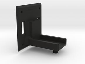 Active Hinge Servo Holder in Black Natural Versatile Plastic