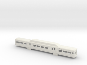 SilverLiner V NScale Car Shell in White Natural Versatile Plastic