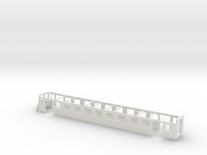 Steuerwagen Abde Wagenkasten MthB Scale TT in White Natural Versatile Plastic