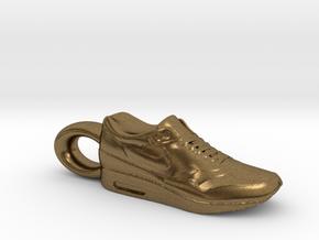 Nike Air Max 1 Sneaker Pendant in Natural Bronze