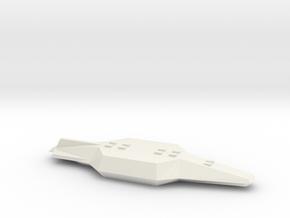 [4] Stealth BS Banshee in White Natural Versatile Plastic