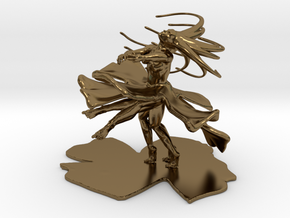 Dancing Girl  in Polished Bronze