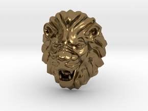 LION RING SIZE 9 1/4 in Polished Bronze