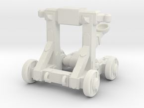 Rubber Band Catapult Mk. 2 in White Natural Versatile Plastic