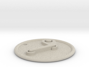 Steam Pendant in Natural Sandstone