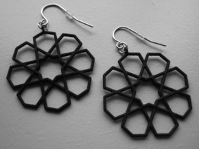 Earrings Tivoli Byzanth in Black Natural Versatile Plastic