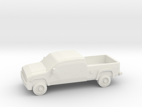 10mm (1/144) 2006 Chevy Silverado 2500 in White Strong & Flexible