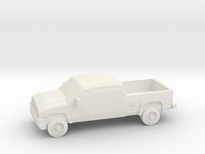 10mm (1/144) 2006 Chevy Silverado 2500 in White Natural Versatile Plastic