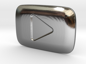 **ON SALE** YouTube Play Button Award in Premium Silver
