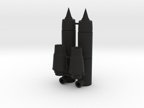Ramair Engine Boosters in Black Natural Versatile Plastic